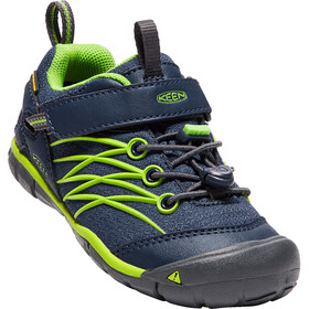 Keen Chandler CNX WP Shoes Children dress blues/greenery